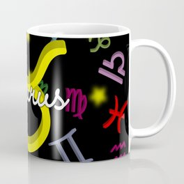 Taurus Floating Zodiac Coffee Mug