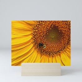 Yellow Sunflower Mini Art Print