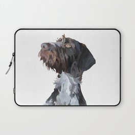 German Wirehaired Pointer Laptop Sleeve