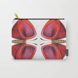 red little butterfly Carry-All Pouch