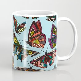 summer butterflies multi sky Coffee Mug