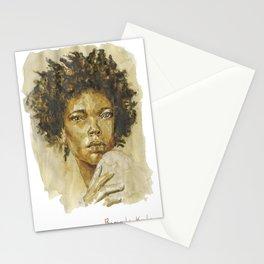 Sahara Woman  Stationery Cards