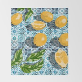 Sweet just isn't as sweet without the sour #painting Throw Blanket