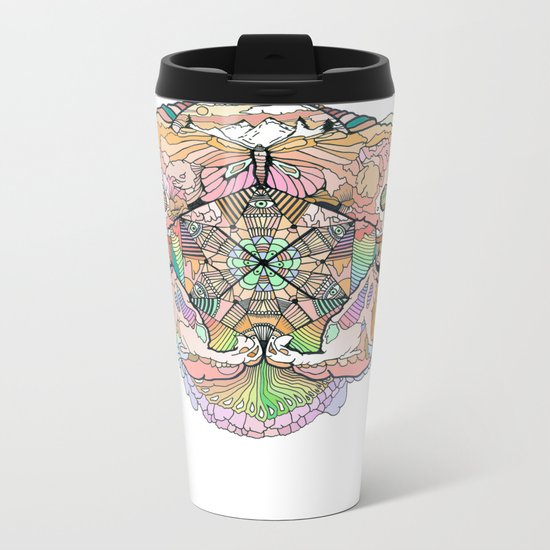 F I N E Metal Travel Mug