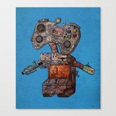 Gamebot Canvas Print