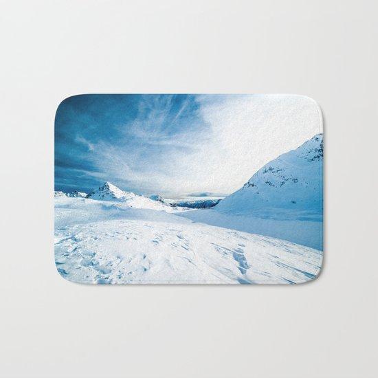 Mountain ice 2 Bath Mat