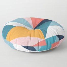 Modern Geometric 35 Floor Pillow
