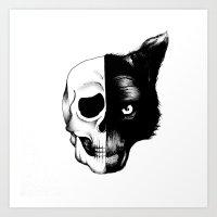 Lobo Tomia Art Print