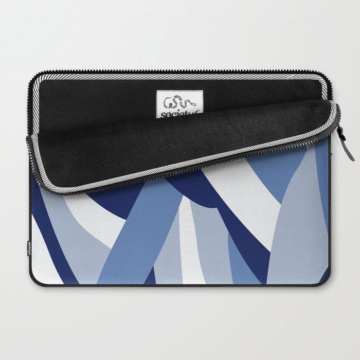 Pucciana Blue Laptop Sleeve