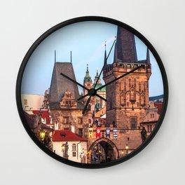 PRAGUE 08 Wall Clock