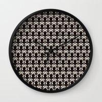 221b Wall Clocks featuring 221B by Jessica Cushen