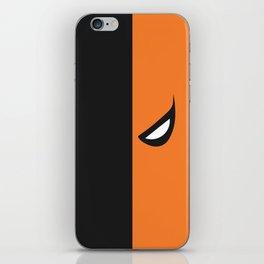 Deathstroke Mask iPhone Skin
