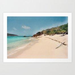 Moskito Island Art Print