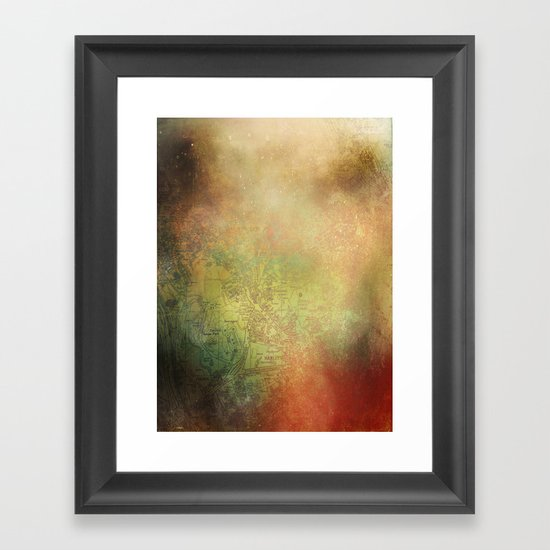 Heartlines  Framed Art Print