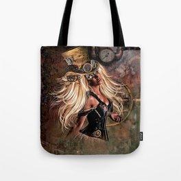 STEAMPUNK VICTORIA Tote Bag
