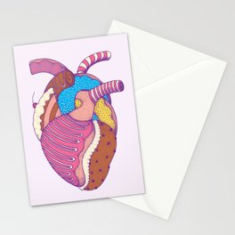 Sweet Heart Stationery Cards