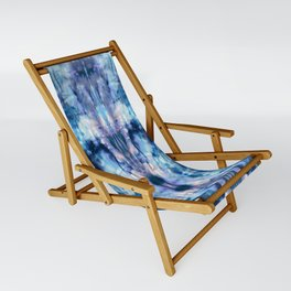 Blue Lagoon Tie-Dye Sling Chair
