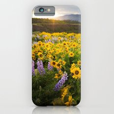Oregon Wildflowers iPhone 6s Slim Case