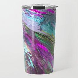 471 - Abstract colour Design Travel Mug