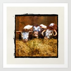 The Laughing Cow. Art Print