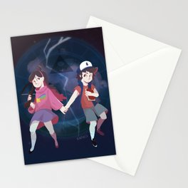 The Mysteries of Gravity Falls Stationery Cards