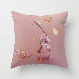 Harry Styles Album Artwork Floral Throw Pillow