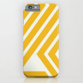 Summer yellow pattern iPhone Case