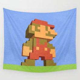Mario NES nostalgia Wall Tapestry