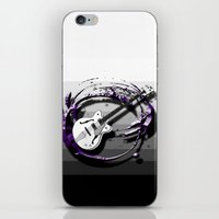 bass iPhone & iPod Skins featuring Music - Bass by yahtz designs