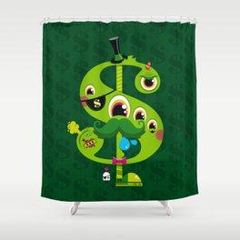 MO' MONEY. NO PROBLEMS. Shower Curtain