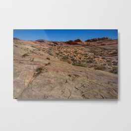 Coat-of-Many-Colors 7510 - Valley of Fire State Park, Nevada Metal Print