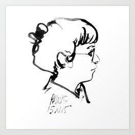 Leslie Art Print