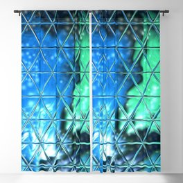 Triangle Glass Tiles 55 Blackout Curtain