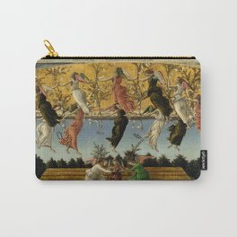 """Sandro Botticelli """"The Mystical Nativity"""" Carry-All Pouch"""
