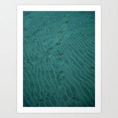 Deep Sea Trekking Art Print