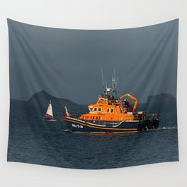RNLI Lifeboat Torbay Wall Tapestry