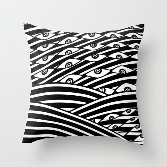 """Amok"" by Drew Litowitz Throw Pillow"