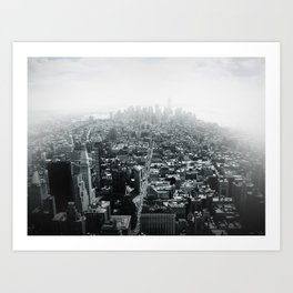 Lower Manhattan (NY) Art Print