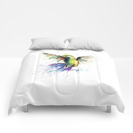 Humming Bird - Ribbons Comforters
