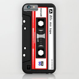1980's Mix Tape Cassette iPhone Case