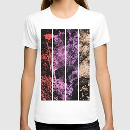 Old Tree in Melon and Berry Tones Digital Art Coachella Valley Wildlife Preserve T-shirt