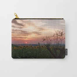 Sunrise from Morro d'Alba, Italy Carry-All Pouch