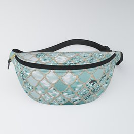 Mermaid Glitter Scales #3 #shiny #decor #art #society6 Fanny Pack