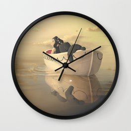 The Life of Tri Wall Clock