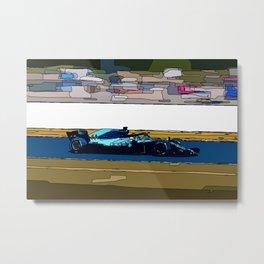 Formule 1 racing Metal Print