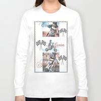 moto Long Sleeve T-shirts featuring Moto Kids by Connie Campbell