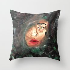 Trapped Thoughts  Throw Pillow