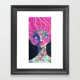 YOU ARE LIMITLESS Framed Art Print