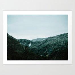 Humber Valley Art Print