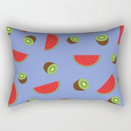 Kiwi Watermelon Rectangular Pillow